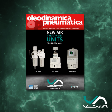 New Air Treatment Units. We have introduced them in the Italian magazine Oleodinamica Pneumatica